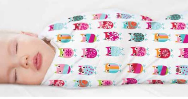 Swaddle blankets for babies - Zutano and aden + anais collection | Cool Mom Picks