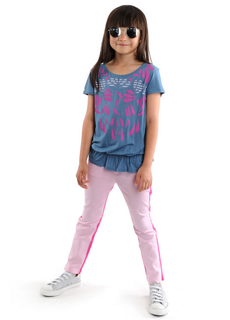 Appaman floral ruffle tee for girls | Cool Mom Picks