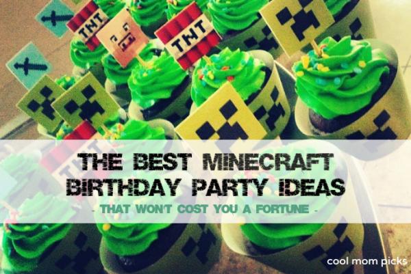 Best Minecraft birthday party ideas DIY | Cool Mom Picks