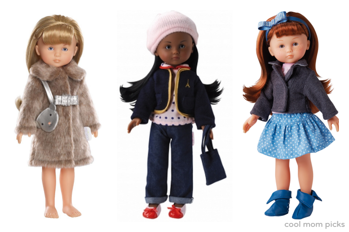 Corolle Les Cheries dolls: The best dolls for 5 year olds who are more interested in berets than burping.