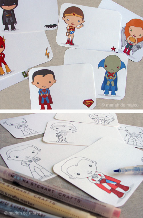Free superhero printables - mariah demarco | Cool Mom Picks