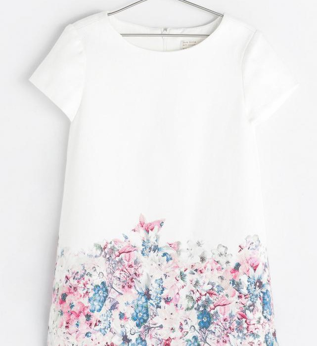 Girls' floral clothes - dress at Zara | Cool Mom Picks