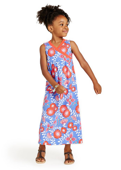 Girls' floral maxi dress at Tea Collection | Cool Mom Picks