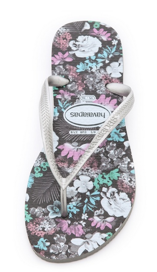 Havaianas Floral Flip Flop at Shop Bop | Cool Mom PIcks
