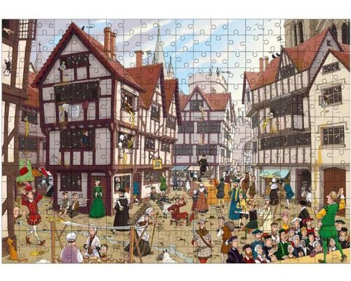 Horrible Histories Puzzle - Terrible Tudors | Cool Mom Picks