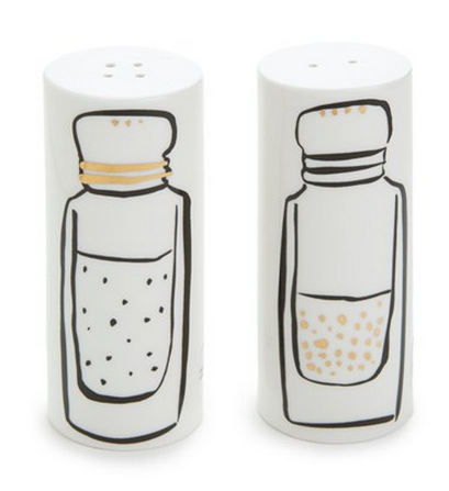 Kate Spade salt and pepper shakers | Cool Mom Picks