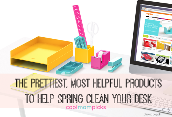 Best products to spring clean your desk | Cool Mom PIcks