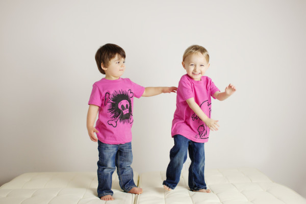 Quirkie pink tees for boys and girls | Cool Mom Picks