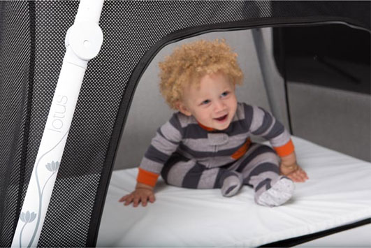 Guava Family Lotus Travel Crib | Cool Mom Picks
