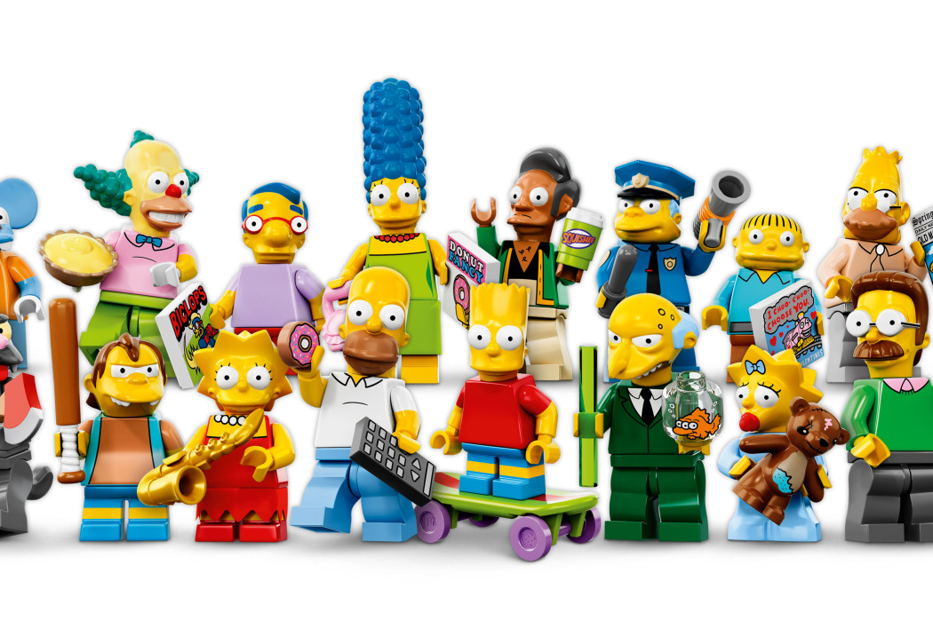 Simpsons LEGO Minifigures on Cool Mom Picks