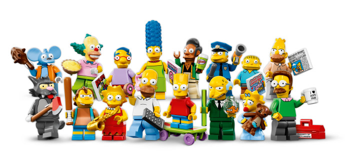 The Simpsons LEGO minifigs are here! The Simpsons LEGO minifigs are here!