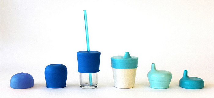 Make your own drinking cups for kids with SipSnap lids
