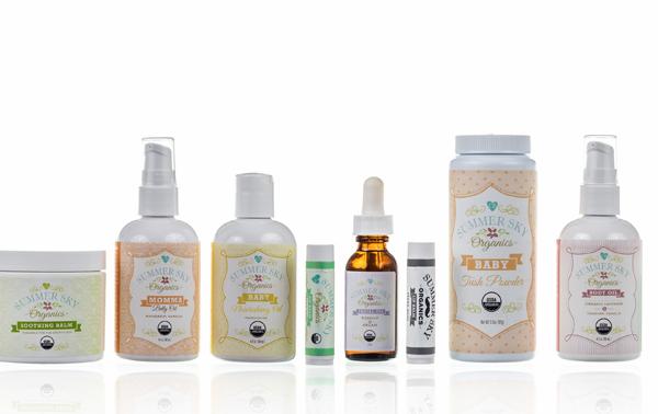 Summer Sky Organics skin care line | Cool Mom Picks