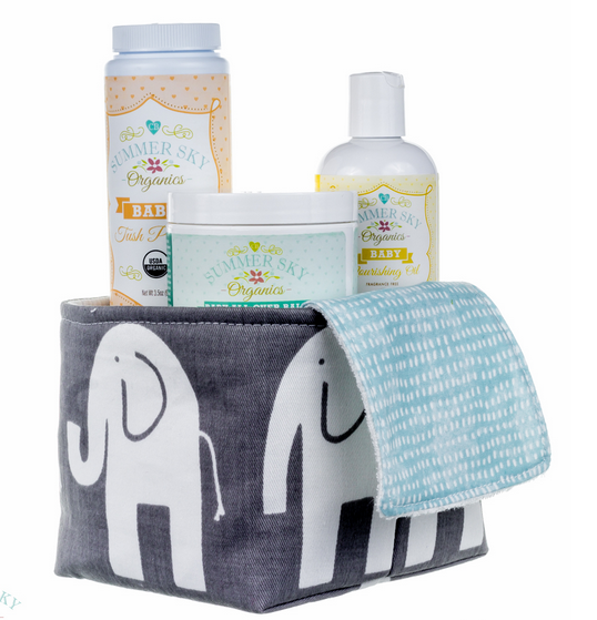Summer Sky Organics baby bundle gift set | Cool Mom Picks