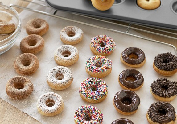 Mini Donut Pan - Williams-Sonoma | Cool Mom Picks