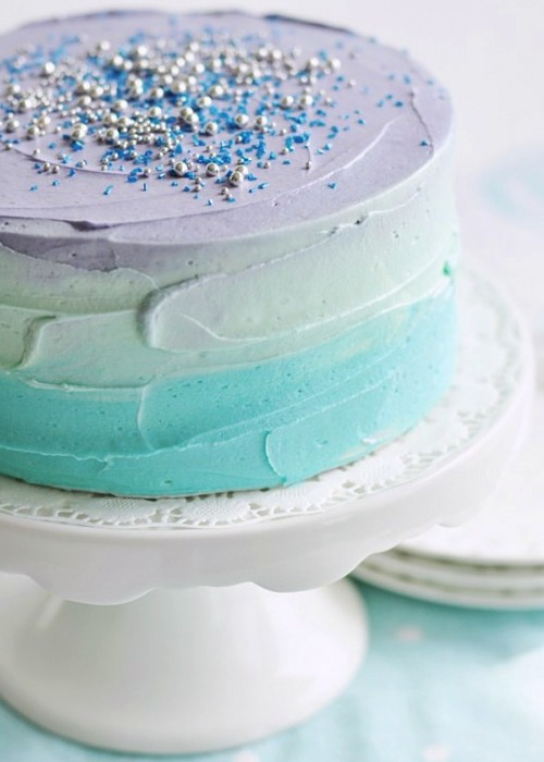 Easy cakes: for Easter Pastel Swirl Cake at Sweetapolita