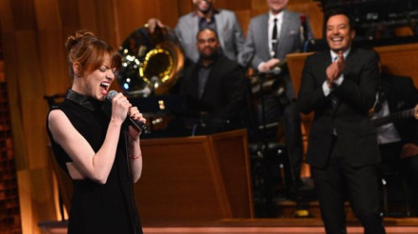 Jimmy Fallon and Emma Stone lip sync battle on Tonight Show | Cool Mom Picks