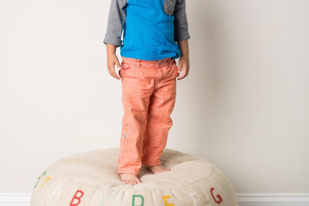 Kids' Home Accessories: Lil Pyar pouf | Cool Mom Picks