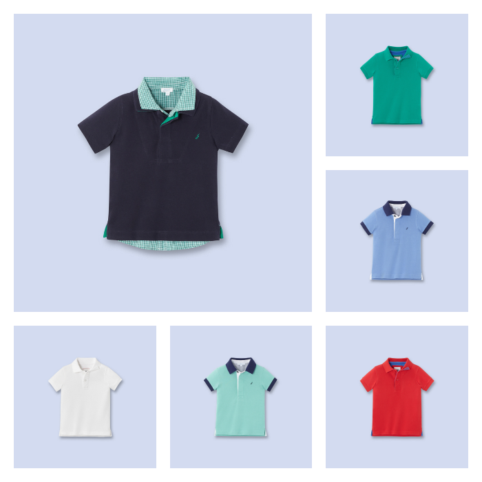 Polo shirts for boys at Jacadi | Cool Mom Picks
