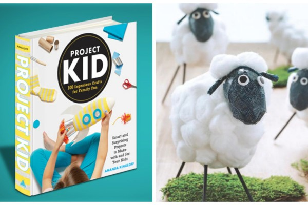 Project Kid craft book by Amanda Kingloff | Cool Mom Picks review