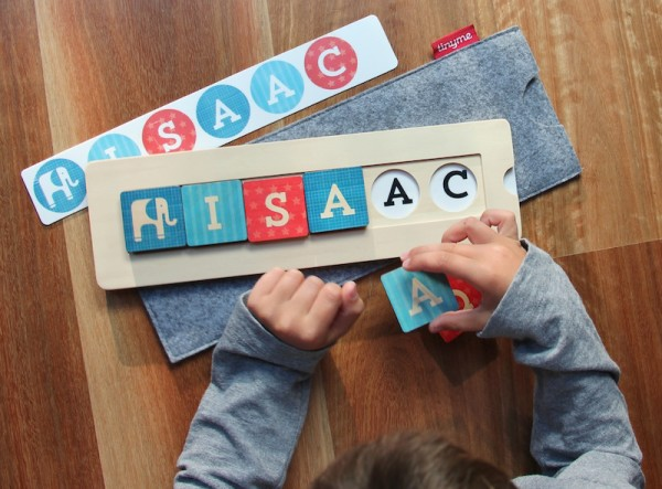 Custom name blocks by TinyMe | Cool Mom Picks