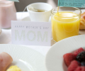 mother's day gift: free printables for breakfast in bed tray  | cool mom picks