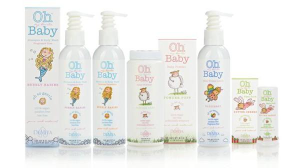 Gentle vegan shampoo for kids and bodywash by DeVita Skin Care