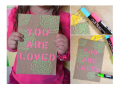 mother's day gift: diy stencil art cards  | cool mom picks