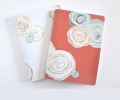 mother's day gift: handstitched floral journals  | cool mom picks