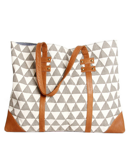 Pyramid Tote by Rising Tides Fair Trade on Given Goods Co