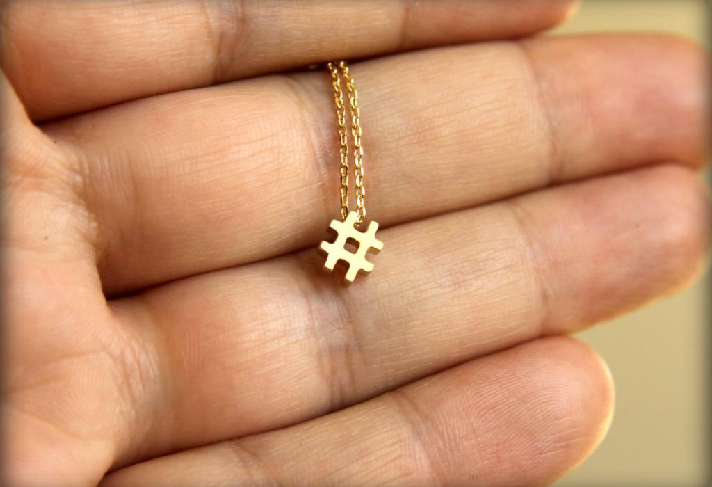 Hashtag Necklace | Cool Mom Tech
