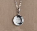 mother's day gift: heirloom glass locket  | cool mom picks