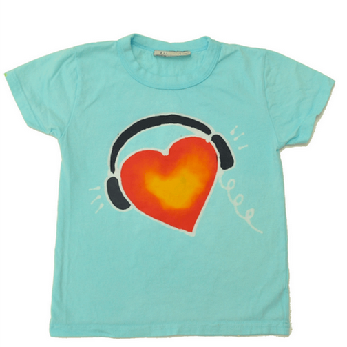 hiho batiik kids heart dj shirt on cool mom picks
