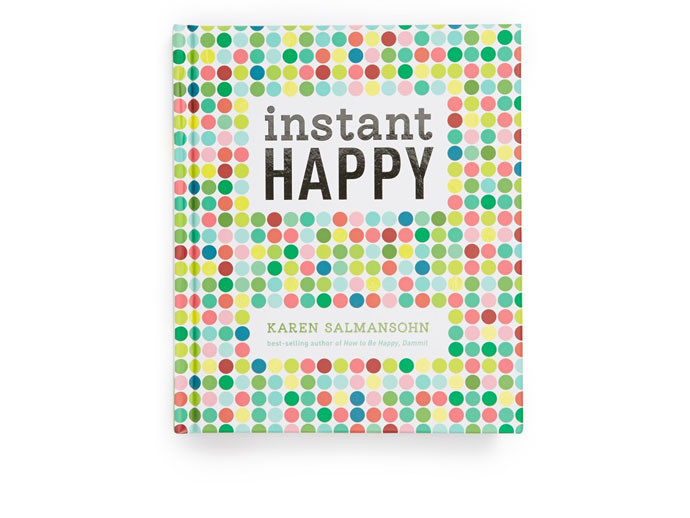 mother's day gift: instant happy book  | cool mom picks