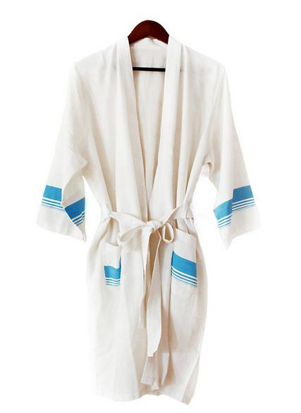 Gifts that give back: Kara Weaves bathrobe at Given Goods