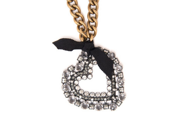 mother's day gift: lanvin heart necklace  | cool mom picks