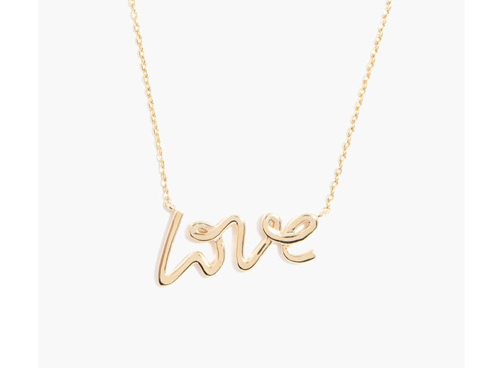 mother's day gift: love necklace  | cool mom picks