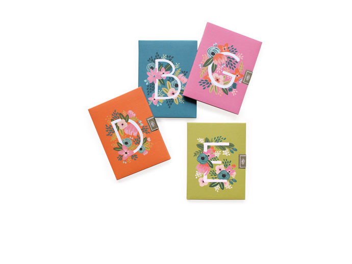 mother's day gift: monogram stationery notecards  | cool mom picks