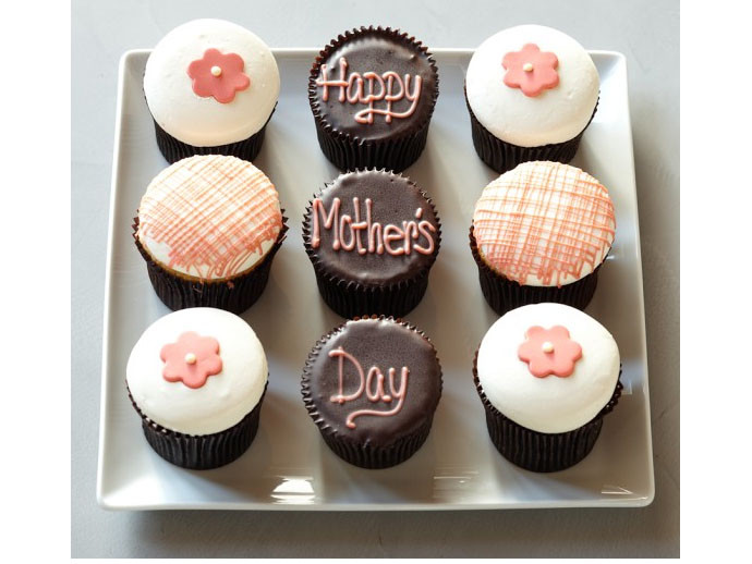 mother's day gift: mother's day cupcake sampler  | cool mom picks