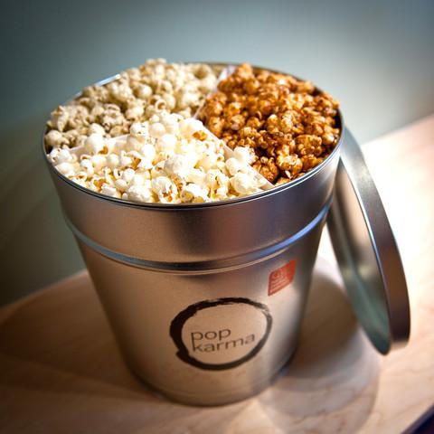 Pop Karma organic gourmet popcorn gifts
