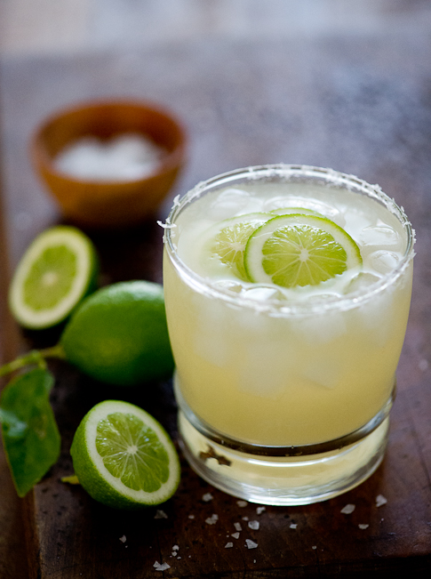 Margarita recipe with organic tequila at White on Rice Couple