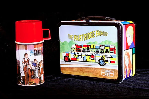 Partridge Family lunch box | photo: gtykal on flickr