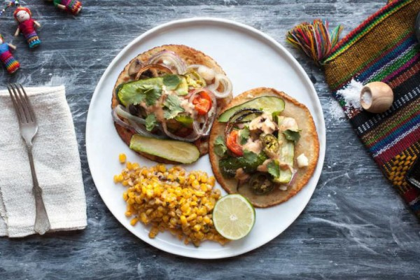 Plated Home Delivery Service - Mexican Veggie Tacos