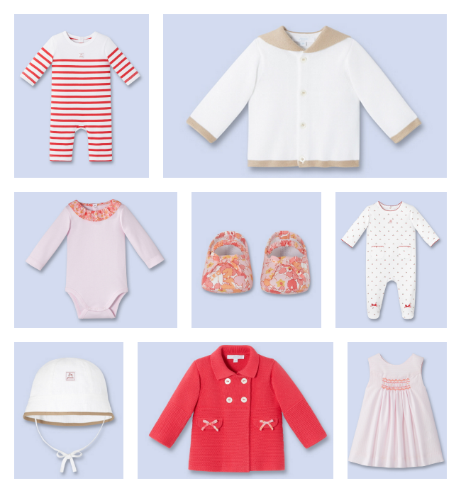 Spring clothes - baby boys + girls on Jacadi US