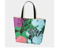 mother's day gift: UNIQLO Andy Warhol flower tote bag  | cool mom picks