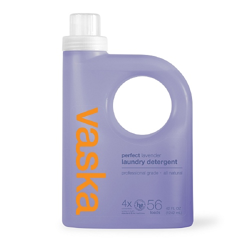 Vaska all natural laundry detergent - lavender