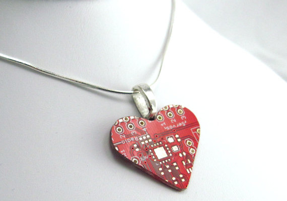 Recycled Circuit Board Necklace | Cool Mom Tech