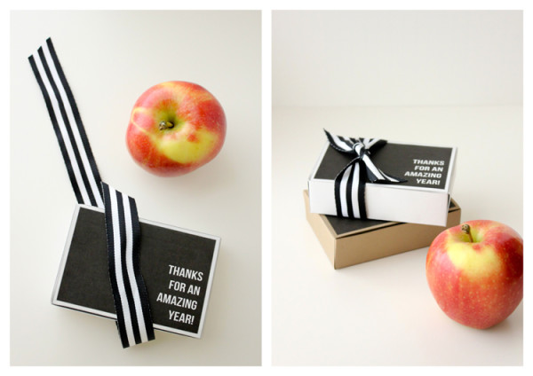 Printable teacher gift card boxes by Delia Creates