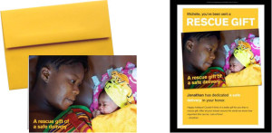 International Rescue Committee ecard for Mother's Day