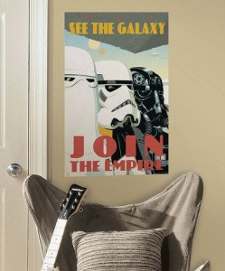 Join the Galaxy Star Wars Poster
